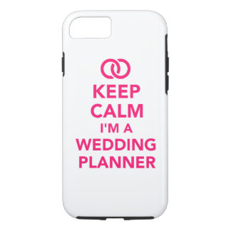 Keep calm I'm a wedding planner iPhone 8/7 Case
