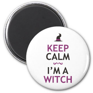 Keep Calm - I m a Witch Magnet