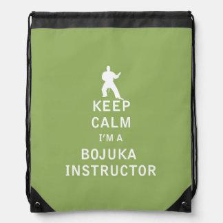 Keep Calm I'm a Bojuka Instructor Rucksack