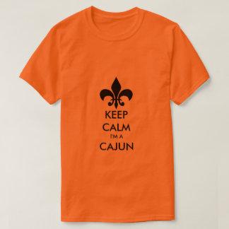 Keep Calm I'm A Cajun Louisiana Tee Shirt