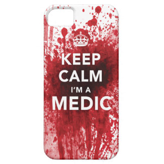 Keep Calm I'm a Medic Blood-Spatter iPhone 5 Case