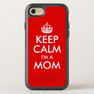 Keep Calm I'm a Mom OtterBox Symmetry iPhone 8/7 Case