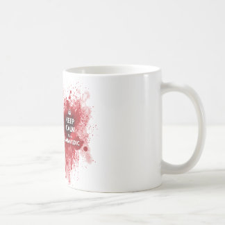Keep Calm I'm a Paramedic Coffee Cup Basic White Mug