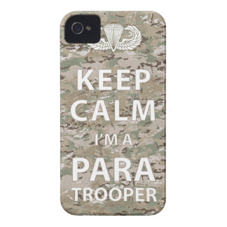 Keep Calm - I'm a Paratrooper iPhone 4 Case