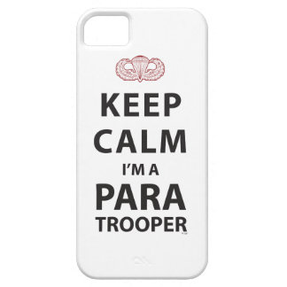 KEEP CALM I'M A PARATROOPER iPhone 5 COVER
