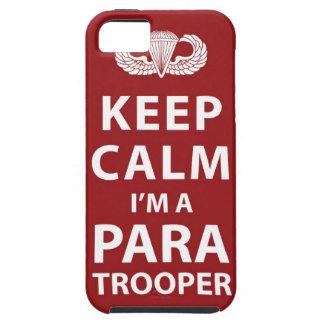 Keep Calm I'm A Paratrooper iPhone 5 Case