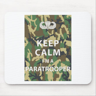 Keep Calm - I'm a Paratrooper Mouse Pad