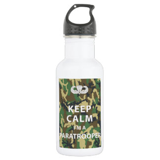 Keep Calm - I'm a Paratrooper 18oz Water Bottle