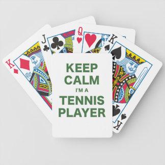 Keep Calm Im a Tennis Player Card Deck