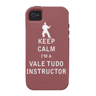 Keep Calm I'm a Vale Tudo Instructor iPhone 4/4S Covers