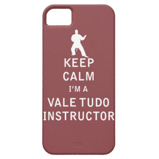 Keep Calm I'm a Vale Tudo Instructor Case For The iPhone 5