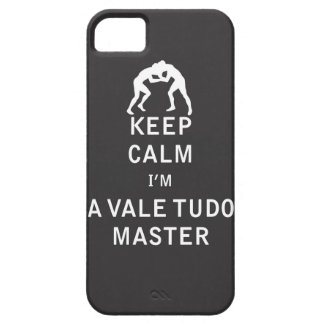 Keep Calm I'm a Vale Tudo Master iPhone 5 Case