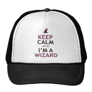 Keep Calm I'm A Wizard Cap