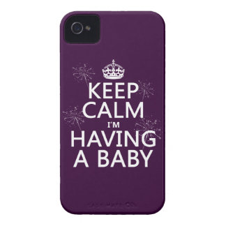 Keep Calm I'm Having A Baby (any color) iPhone 4 Cases