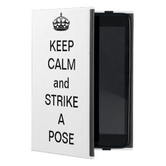 'Keep calm' iPad case