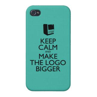 Keep calm iPhone 4 cases