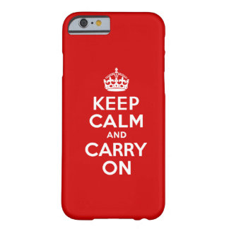 Keep Calm iPhone 6 case Barely There iPhone 6 Case