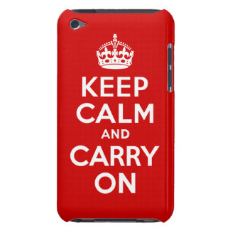 Keep Calm iPod Touch Barely There Case