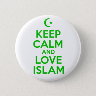 Keep Calm Islamic 6 Cm Round Badge