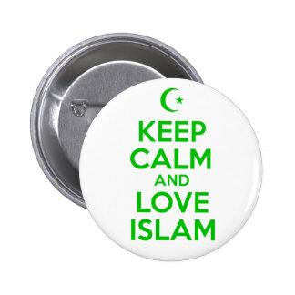 Keep Calm Islamic 6 Cm Round Badge