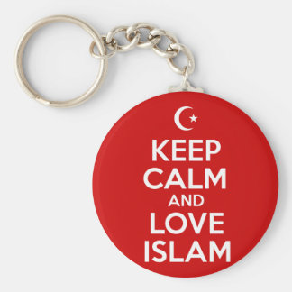 Keep Calm Islamic Key Ring