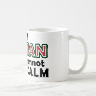 Keep Calm Italians Basic White Mug