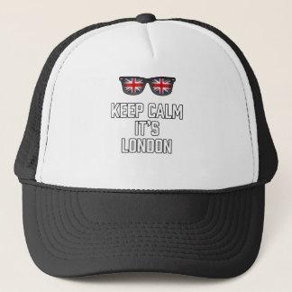 Keep Calm Its London Trucker Hat