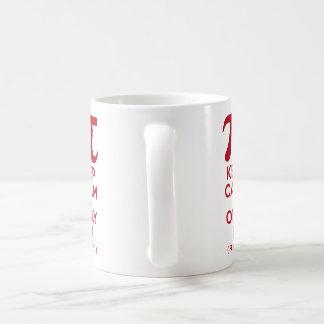 Keep Calm It's Only Pi Coffee Mug