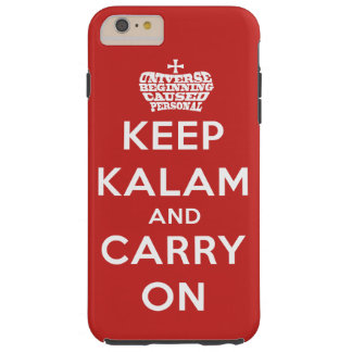 Keep Calm / Kalam Tough iPhone 6 Plus Case