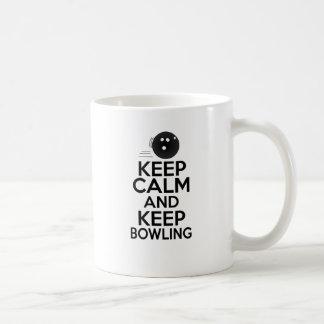 Keep Calm & Keep Bowling Coffee Mug