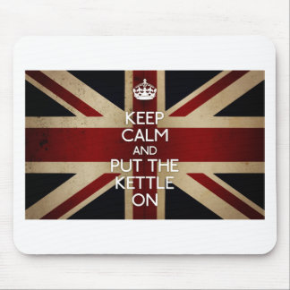 Keep Calm (kettle on) Mouse Pad