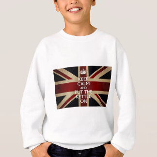 Keep Calm (kettle on) Sweatshirt
