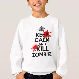 Keep Calm & Kill Zombies Sweatshirt