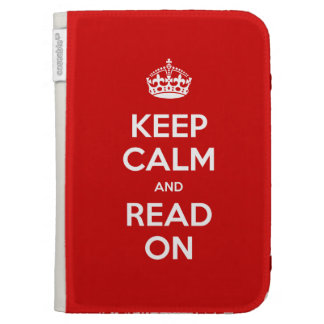 Keep Calm Kindle Case For The Kindle