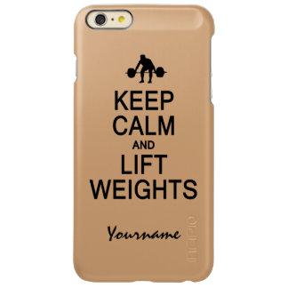 Keep Calm & Lift Weights custom cases