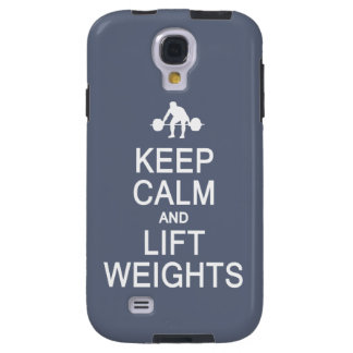Keep Calm & Lift Weights custom color cases