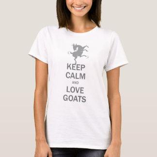 Keep Calm Love Goats T-Shirt
