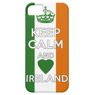 Keep Calm & Love Ireland Case For The iPhone 5