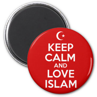 Keep Calm Love Islam Magnet