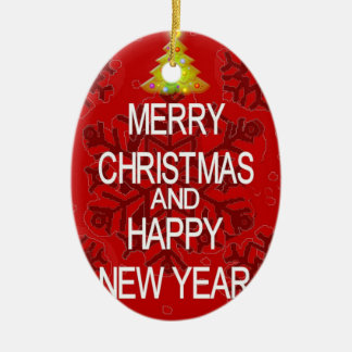 Keep Calm Merry Christmas ornament