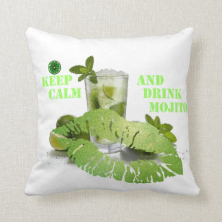 Keep Calm Mojito Cushion