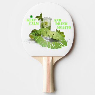 Keep Calm Mojito Ping Pong Paddle
