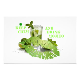 Keep Calm Mojito Stationery