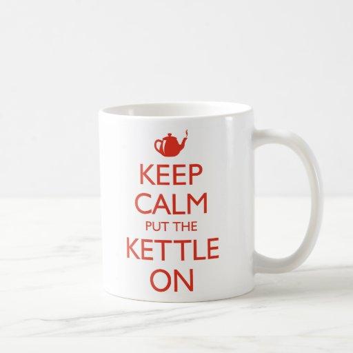 Keep Calm Coffee Mug
