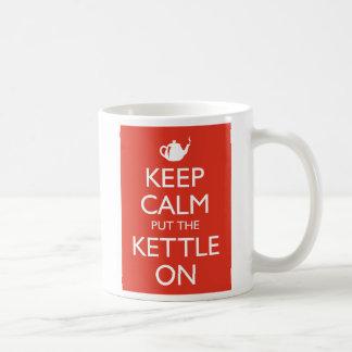 Keep Calm Basic White Mug