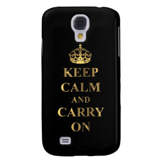 Keep calm on any color galaxy s4 case