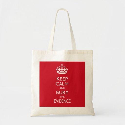 Keep Calm Parody 1 Bags