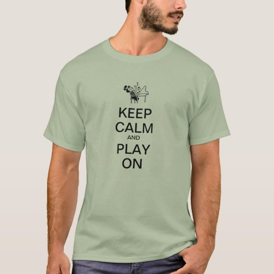 KEEP CALM PIANO T-Shirt