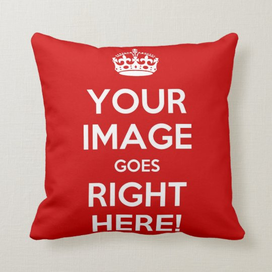 Keep Calm Pillow* best with square images Cushion