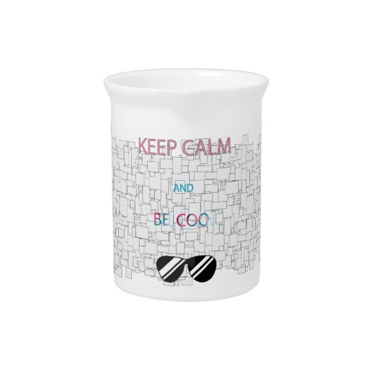 Keep Calm Pitcher
